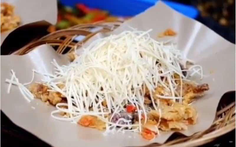Ayam Geprek dan Susu (Preksu)