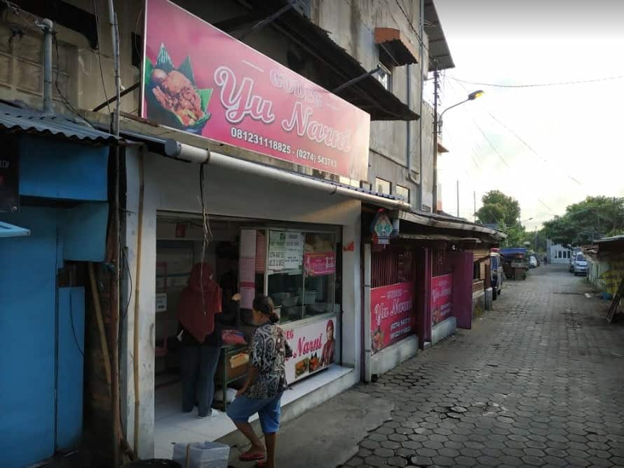 Gudeg Yu Narni Outlet