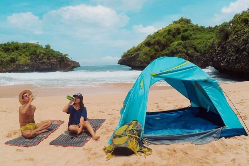 Camping Pantai Sedahan