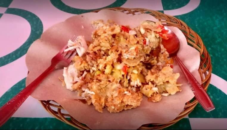 Ayam Geprek Bu Tini (Spesial Kuah Tongseng)